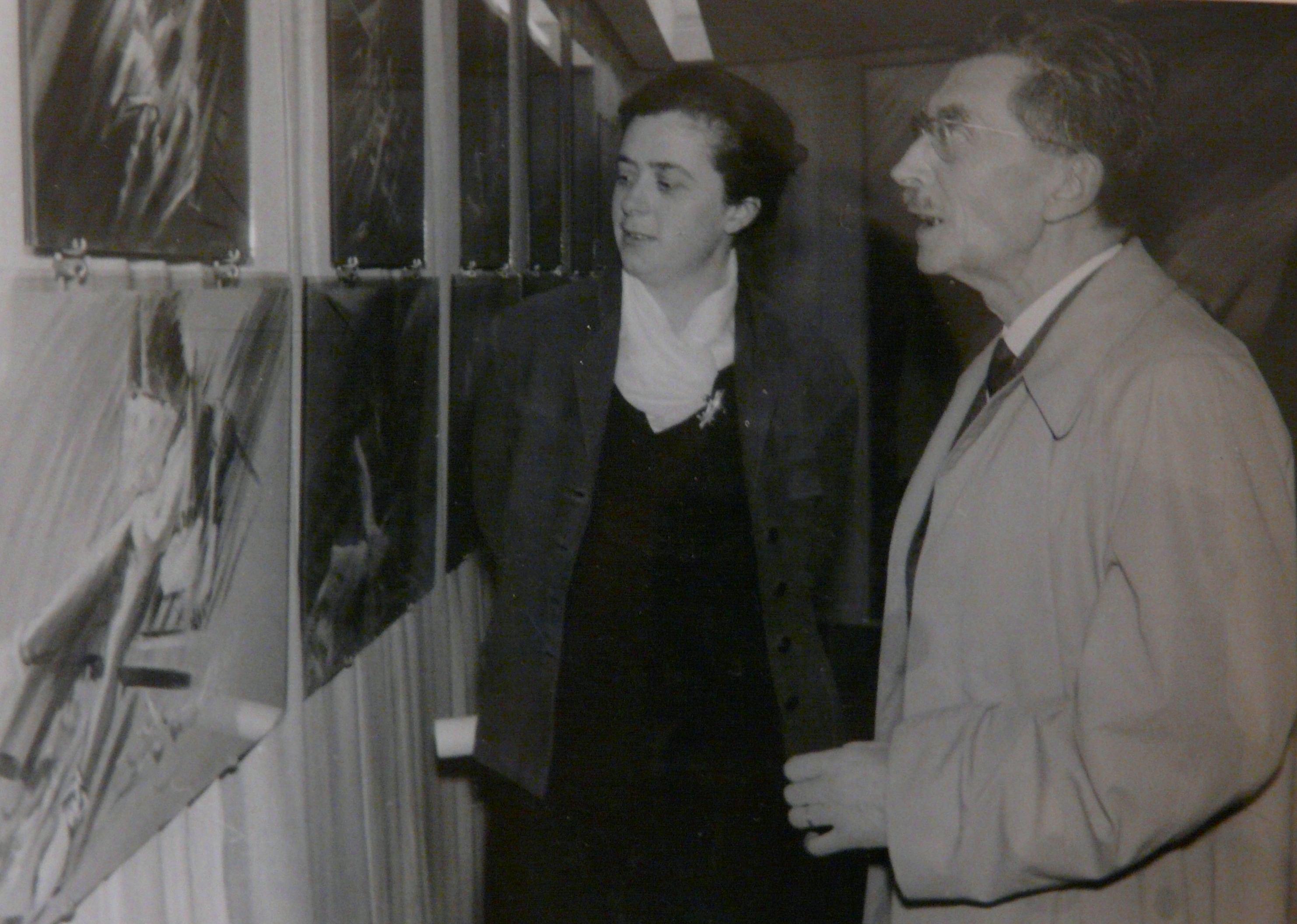 Daniel JACOMET et sa fille Marie-Jeanne